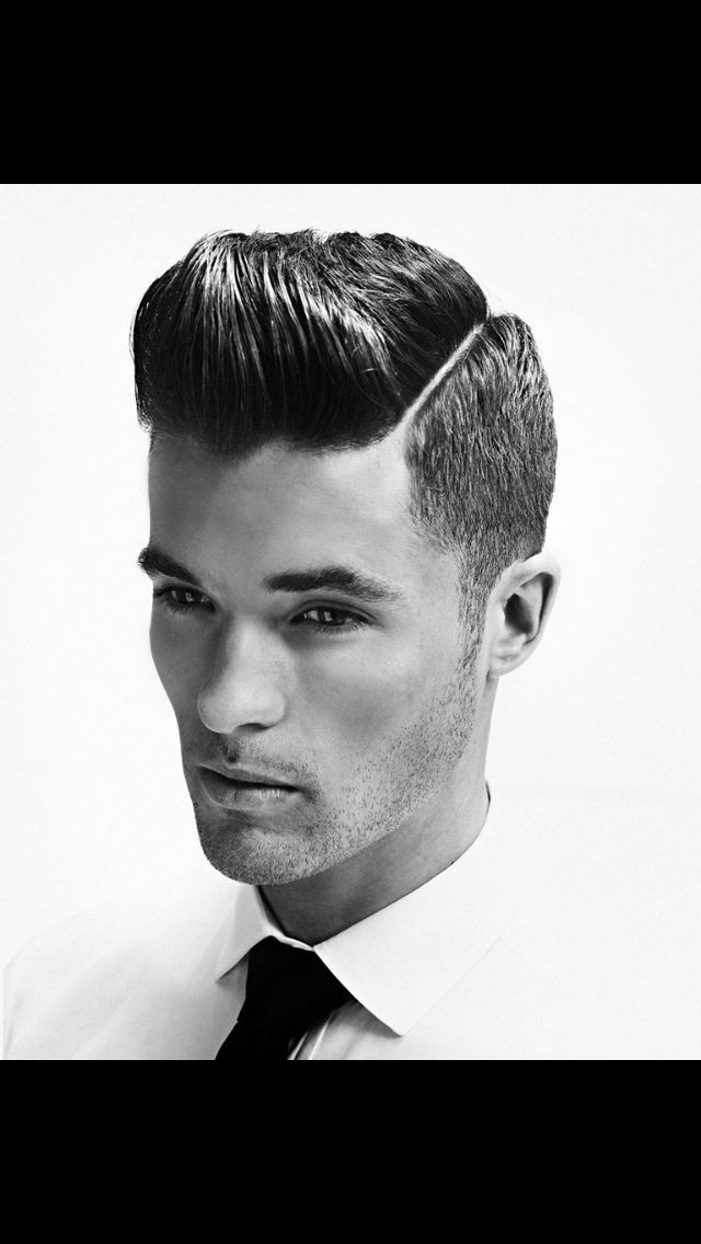 Slicked and buzzed #mens #hair. #hairstyle #guys