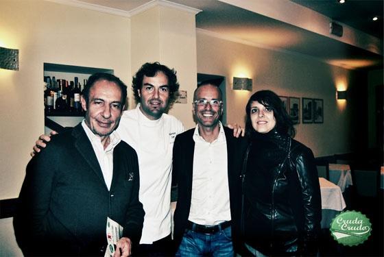 Lo chef, Paolini, Edoardo e Luciana
