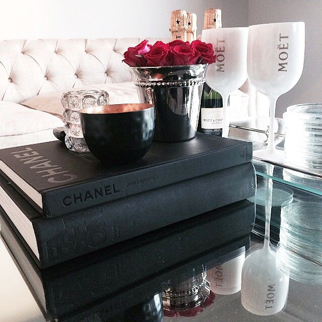 Just some coffee table books and decor inspiration, nbd ;)