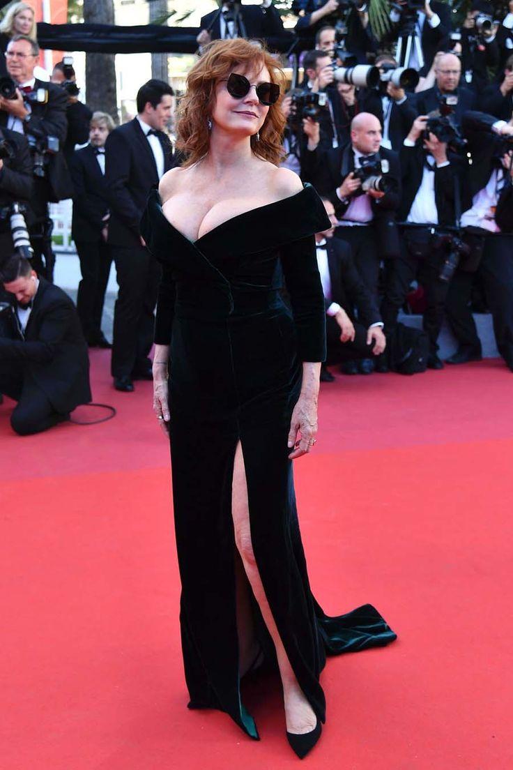 Сьюзан Сарандон в платье от Alberta Ferretti открытии Каннского кинофестиваля - ПоЗиТиФфЧиК - сайт позитивного настроения!