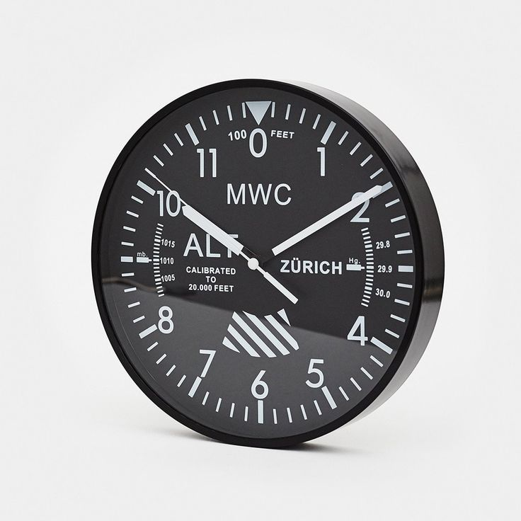 Military Watch Company (MWC) Altimeter Wall Clock