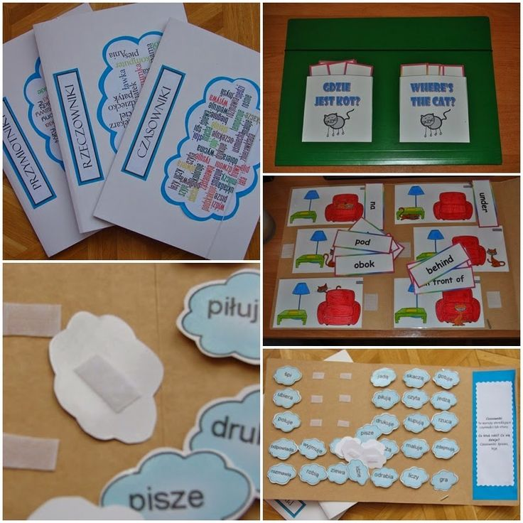 File Folder Games ~ Zamiast kserówki. Edukacyjne gry i zabawy dla dzieci.