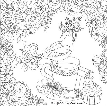 Coloring Book For Adults WORDS AND COLORS FOR SOUL By Egle Stripeikiene Publisher