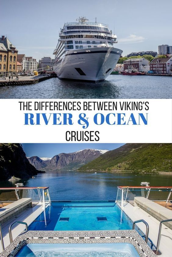 The differences between a Viking River and a Viking Ocean cruises, including dining, excursions and amenities.