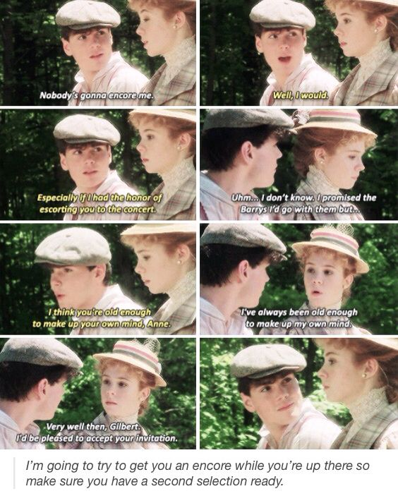 Anne of Green Gables //gilbert blythe// anne shirley