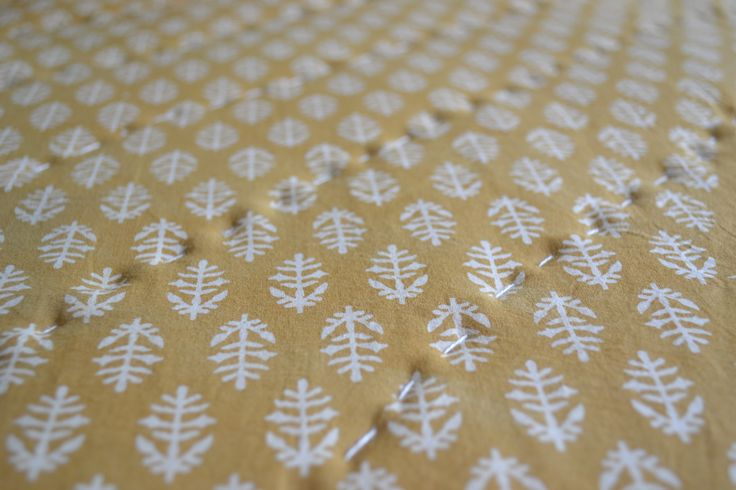 Ochre willow colour, fine block print design, reversible same colour with different print design http://www.timelessquilts.com.au/shop/ The three-centuries-old tradition of block printing is kept alive with the efforts of local artisans. stamp the cloth with beautiful designs using natural dyes of earthly shades.