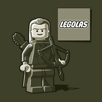 Legolas...see what they did there!? Haha!