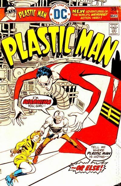 Plastic Man (1966 1st Series DC) 12