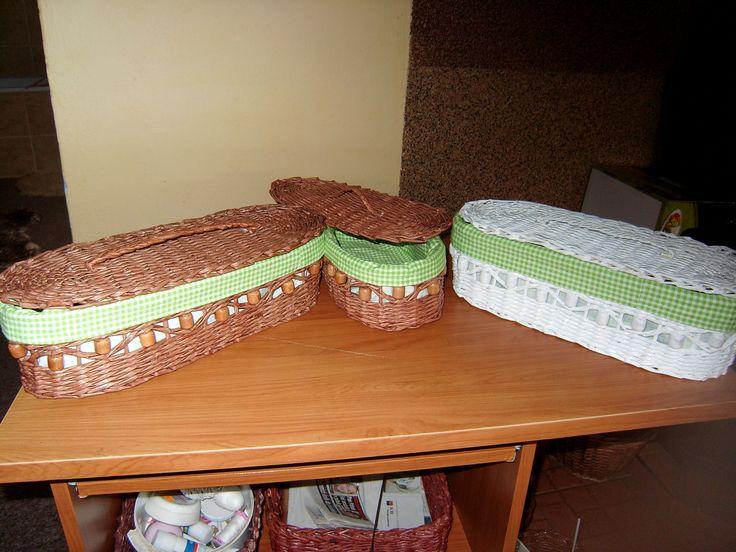 Košíky na pečivo  36x14x10