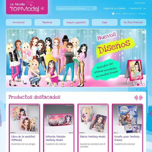 Sabías que el #diseñoweb y el #SEO son muy importantes a la hora de crear tu #tiendaonline? Latiendatopmodel.com es un buen ejemplo.