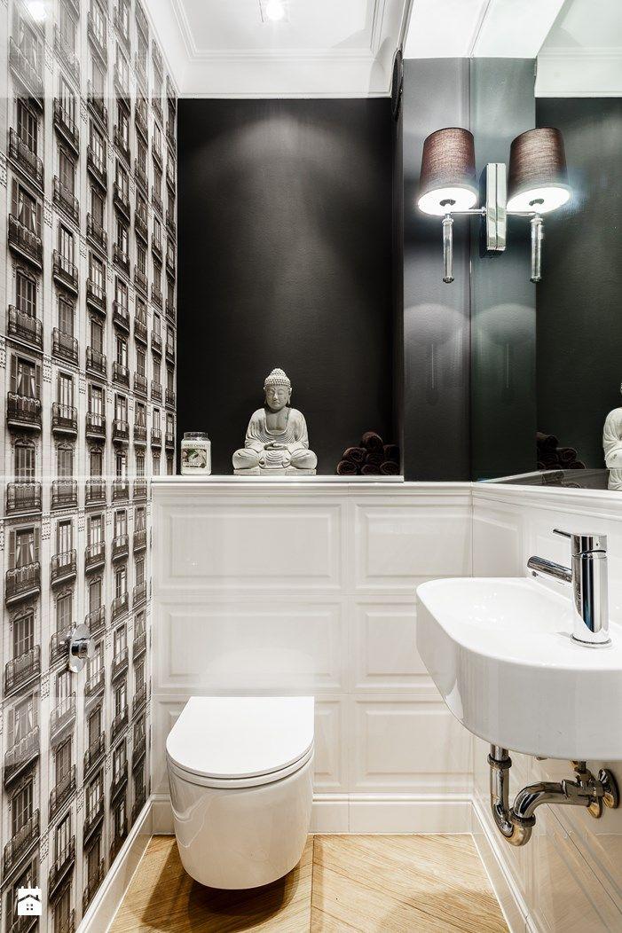 Wystrój wnętrz - Łazienka - styl Eklektyczny. Projekty i aranżacje najlepszych designerów. Prawdziwe inspiracje dla każdego, dla kogo liczy się dobry gust i nieprzeciętne rozwiązania w nowoczesnym projektowaniu i dekorowaniu wnętrz. Obejrzyj zdjęcia!