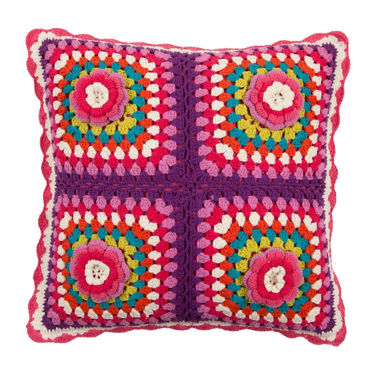 Zara Home Kids Online Shop: margarita pillow. Retro+colors=Love!