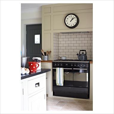 14 best images about kitchen chimney breast on pinterest for Tiled chimney breast images