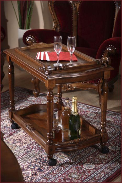 Masuta de servit Sufragerie Royal: Masuta de servit din lemn masiv pentru Sufragerie