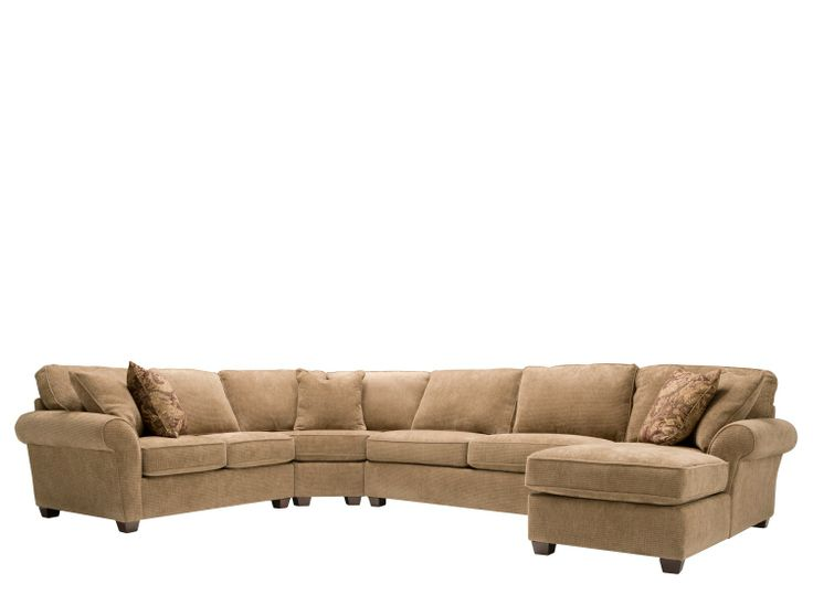 Wagner chenille sectional sofa w full sleeper perfect for 4 piece sectional sleeper sofa