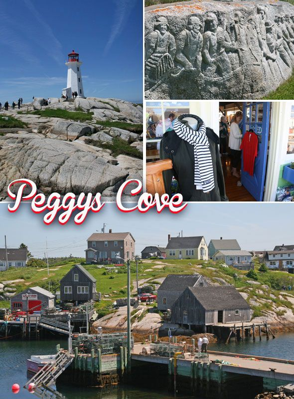 Peggys Cove in Nova Scotia, Canada