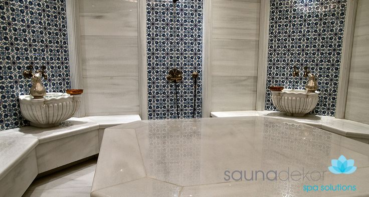 Turkish Bath with the shower inside