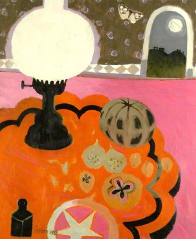Mary Fedden, The Lamp