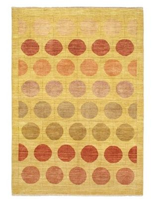 -22,033% OFF Hand-Knotted Finest Ziegler Chobi Rug, Gold, 5' 5