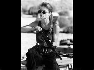 Sarah Connor, the Terminator Trilogy (written by James Cameron and William Wisher, Jr.) #characters #movie #film #fiction #writing: Movie Film, Character Movie