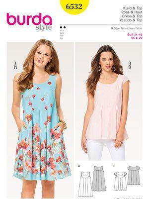 Kleid – Hängerkleid – Top – Passe Schnittmuster