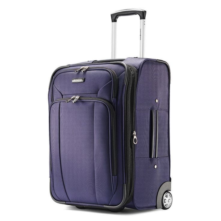 Samsonite Hyperspin 2 21-Inch Wheeled Carry-On Luggage, Purple