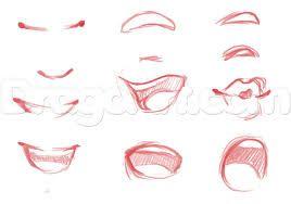 Znalezione obrazy dla zapytania how to draw female face cartoon
