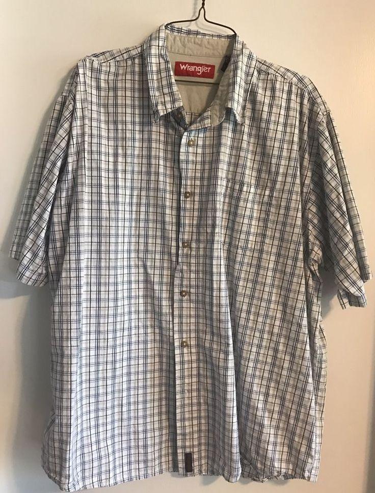 Men's Wrangler Shirt  | eBay