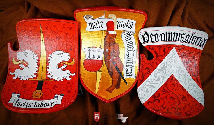 Jousting shields