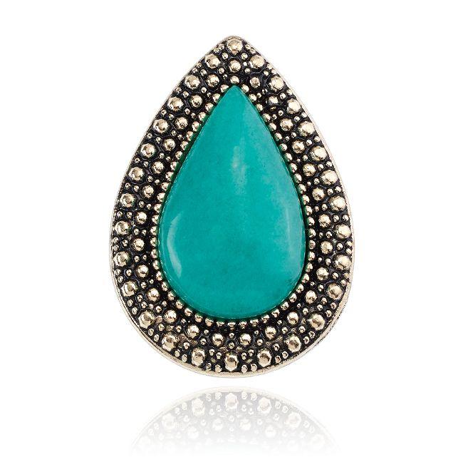 SAMANTHA WILLS - BOHEMIAN BARDOT RING - JADE We love this colour!  #littleextras