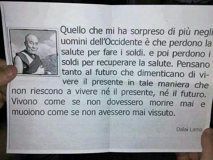 By Dalai Lama..