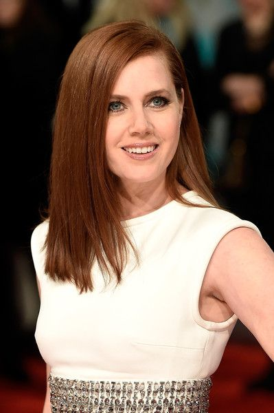 Amy Adams' Straight Cut - Haute Hairstyles for Women Over 40 - Photos