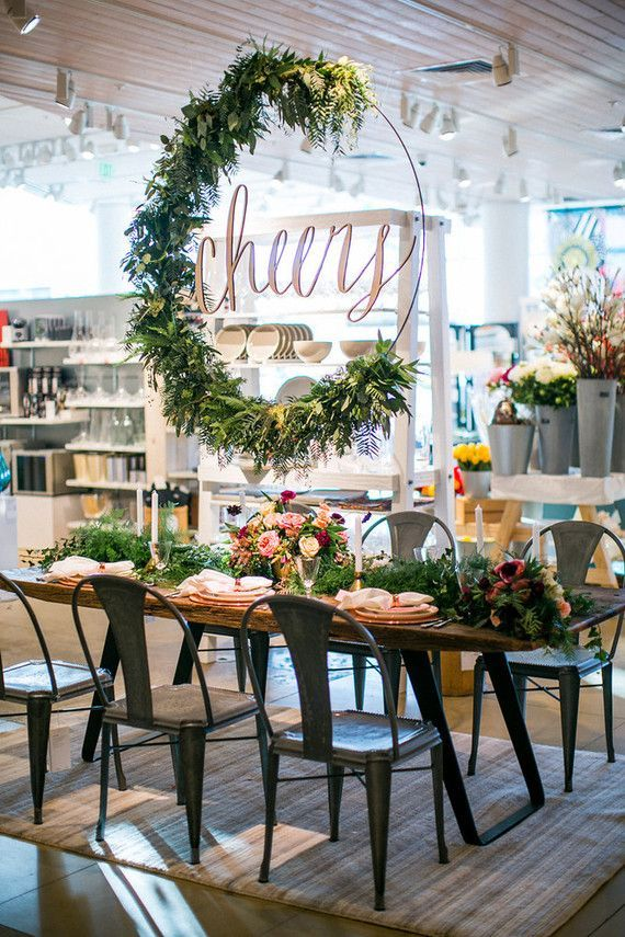 Crate And Barrel Private Registry Event Hosted By 100 Layer Cake Sponsored Post Wedding Inspiration
