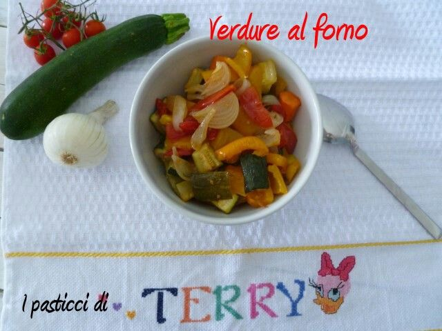 Stasera Verdure al forno: buonissime!!