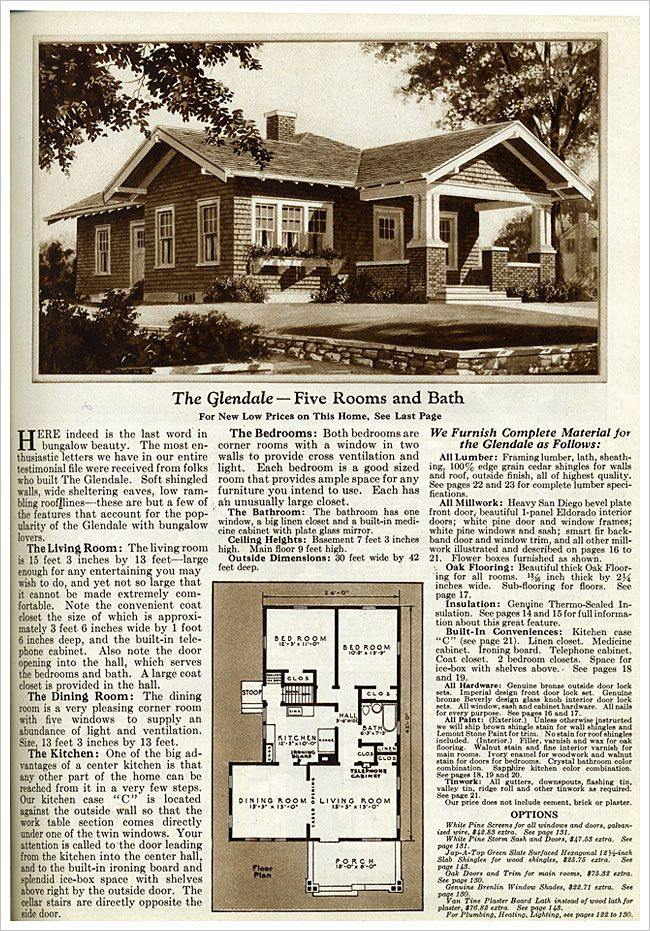46 best images about vintage house plans on pinterest for 1925 bungalow floor plan