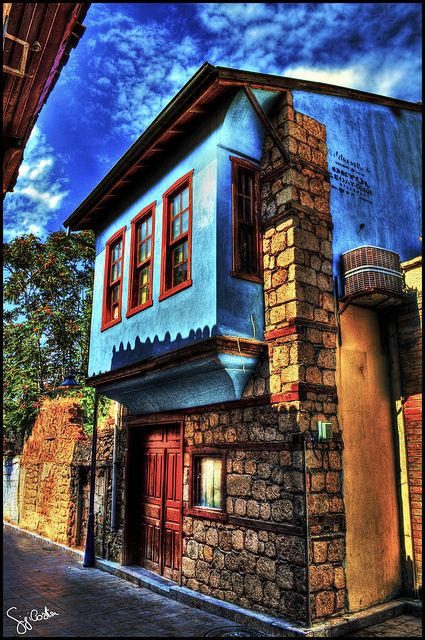 Typical architecture in Antalya, TURKEY