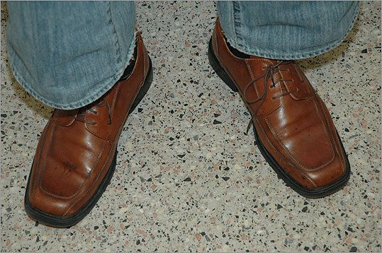 """Philip Markoff Craiglist Killer""""was wearing shoes stained with Brisman's blood when he was arrested, Suffolk District  Attorney Daniel F. Conley said. Photo taken by police after they arrested Markoff."""