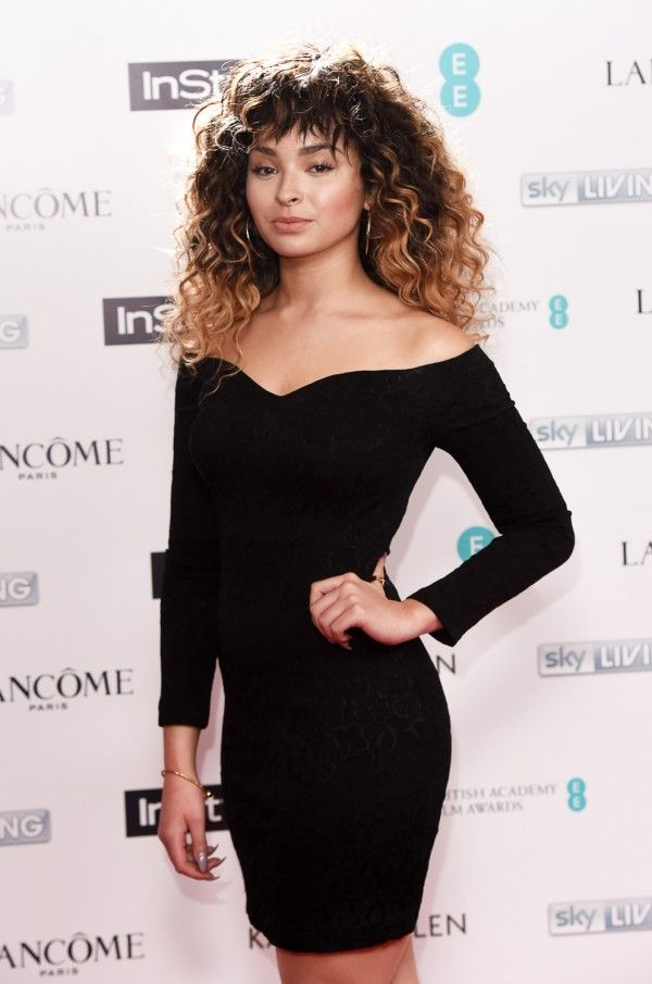 Ella Eyre At The InStyle BAFTA EE Rising Star Party 2015 In Vintage