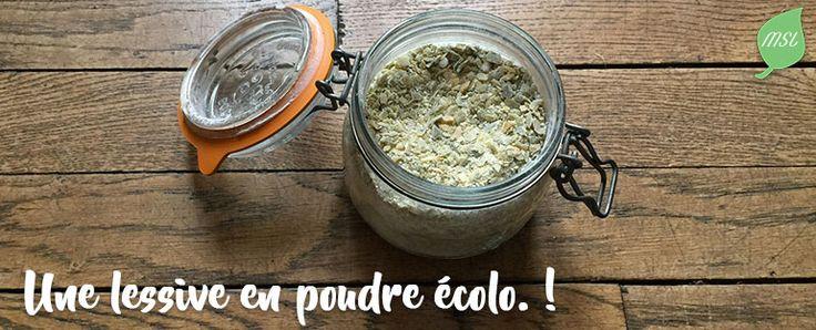 Découvrez une nouvelle recette de lessive en poudre écologique. Très simple à réaliser, elle est efficace sur tout type de linge.