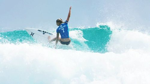 Lakey Peterson. Veer. via world surf league