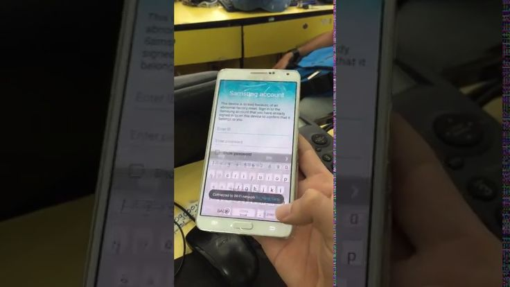 Bypass Reactivation Lock On Samsung Account Samsung Galaxy Note 3 N900V ...