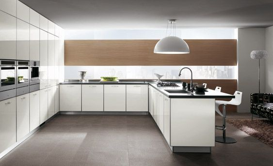 Crystal Kitchen by Vuesse (research and development dept. of Scavolini)