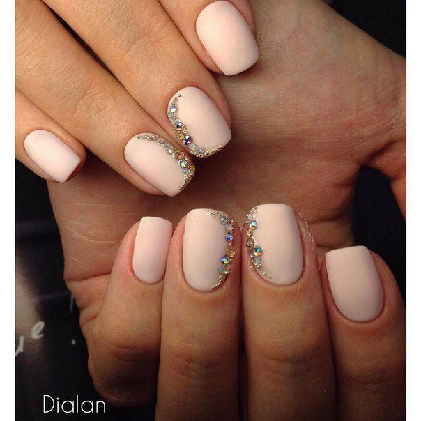Accurate nails, Beautiful nails 2016, Cool nails, Delicate spring nails, Evening nails, Exquisite nails, Festive nails, Nails ideas 2016