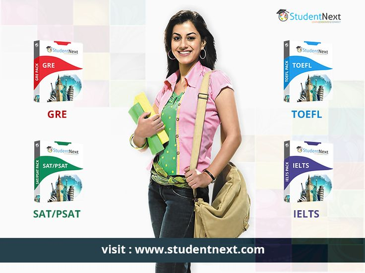 Looking for Masters in Abroad?StudentNext gives you full length GRE, IELTS, TOEFL, SAT/PSAT practice tests packs which will help you to get 100% result.  http://studentnext.com/