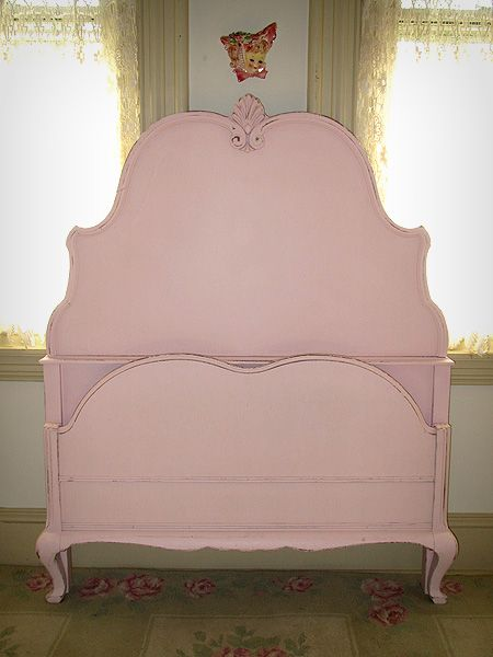 Pink Vintage Twin Size Bed