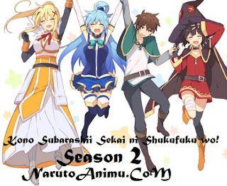 Naruto Animu: Kono Subarashii Sekai ni Shukufuku wo! Season 2 Ep...
