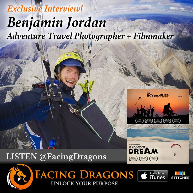 FD18 PODCAST INTERVIEW: Do the Impossible @benjaminjordanadventure