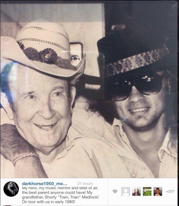 Great picture from Rickey Medlocke's Instagram account. #rickeymedlocke #blackfoot #lynyrdskynyrd #southernrock | Skynyrd.com