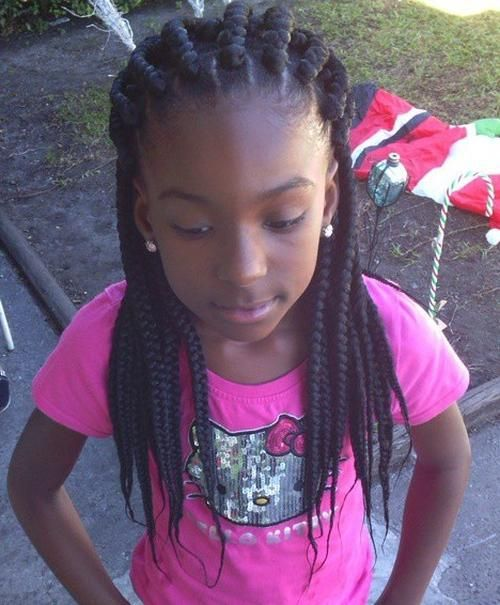 black+braided+hairstyle+with+extensions+for+girls