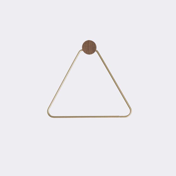 Brass Toilet Paper Holder design by Ferm Living